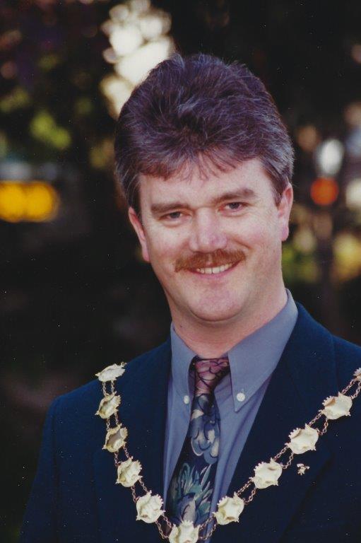 Alan Jones - Mayor 1995/96, 2007/08, 2012/13